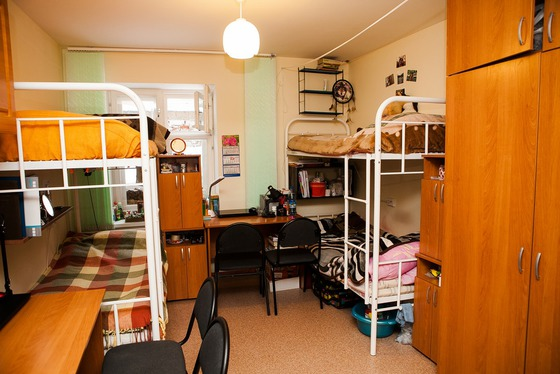 Terms of the settlement of students in hostels